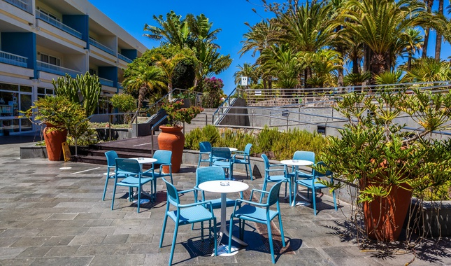Terraza - Abora Interclub Atlantic by Lopesan Hotels - Gran Canaria